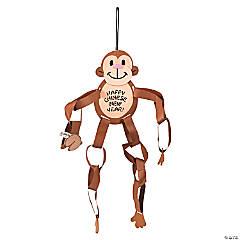 Chinese New Year Paper Chain Monkey Craft Kit