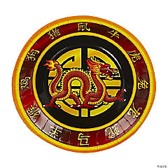 Chinese New Year Paper Dinner Plates - 8 Ct.