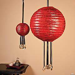 chinese new year paper lanterns idea