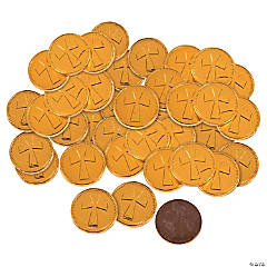 Chocolate Cross Coins