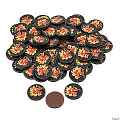 Chocolate Dragon Coins