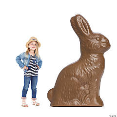 Chocolate Easter Bunny Stand-Up