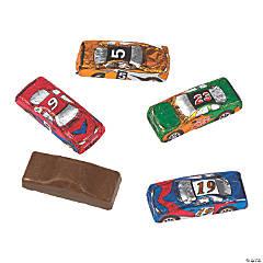 Chocolate Race Cars