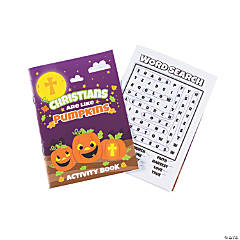 Christian Pumpkin Activity Books