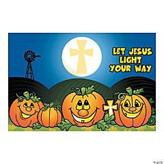 christian pumpkin backdrop banner halloween dcor