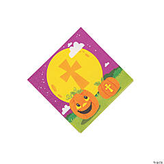 Christian Pumpkin Beverage Napkins