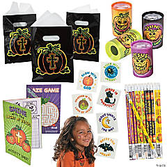 Christian Pumpkin Boo Bag Kit for 48