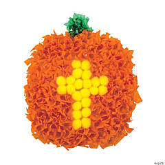 Christian Pumpkin Crinke Tissue Paper Craft Kit