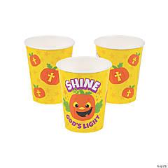 Christian Pumpkin Cups