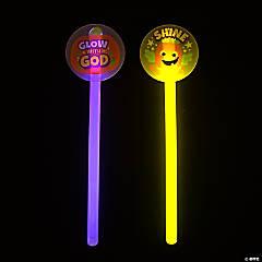 Christian Pumpkin Glow Wands