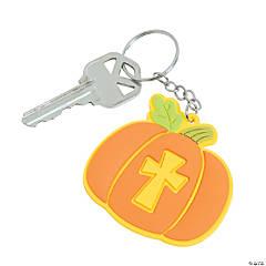 Christian Pumpkin Keychains