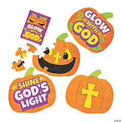 Christian Pumpkin Mini Puzzles