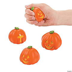 Christian Pumpkin Stress Toys