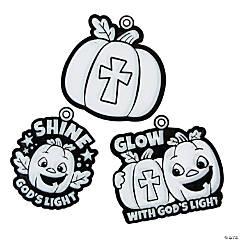 Christian Pumpkin Suncatchers