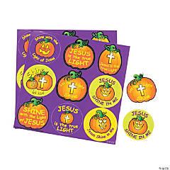 Christian Pumpkin Treat Sticker Sheets