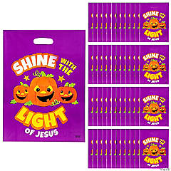 Christian Pumpkin Trick-or-Treat Goody Bags