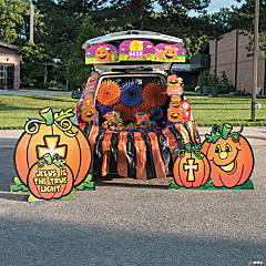 Christian Pumpkin Trunk-or-Treat Grand Decorating Kit
