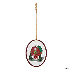 Christmas Barn Ornaments