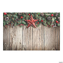 christmas barn wood backdrop