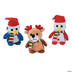Christmas Big Eye Stuffed Animal Characters