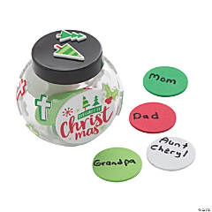 Christmas Blessings Jar Craft Kit