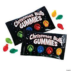 Christmas Bulb Gummy Candy