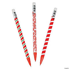 Christmas Candy Cane Mechanical Pencils