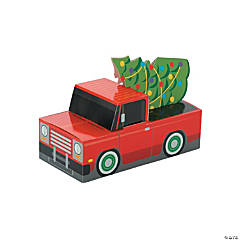 Christmas Car Favor Boxes