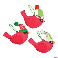 Christmas Cardinal Ornament Craft Kit