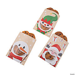 Christmas Character Paper Favor Bags