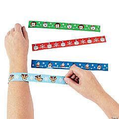 Christmas Character Slap Bracelets