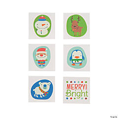Christmas Character Temporary Tattoos