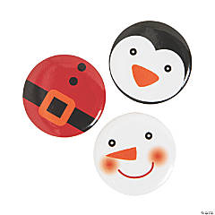 Christmas Characters Mini Buttons