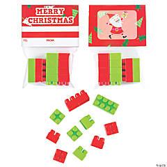 Christmas Color Brick Handouts