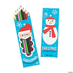 Christmas Colored Pencils