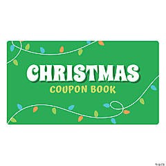 Christmas Coupon Books