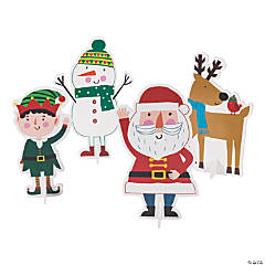 Christmas Crew Centerpieces