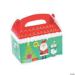 Christmas Crew Favor Boxes