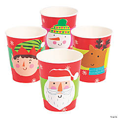 Christmas Crew Paper Cups