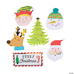 Christmas Crew Wall Cutouts