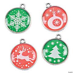 Christmas Disc Charms