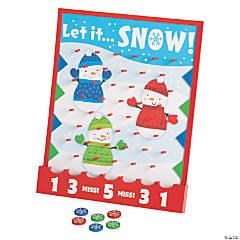 Christmas Disc Drop Game