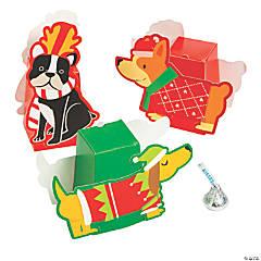Christmas Dog Favor Boxes