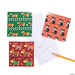 Christmas Dogs Notepads