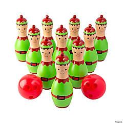 Christmas Elf Bowling Game