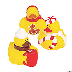Christmas Foods Rubber Duckies