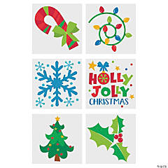 Christmas Glitter Temporary Tattoos