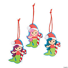 Christmas Mermaid Ornament Craft Kit