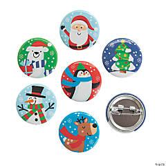 Christmas Mini Buttons