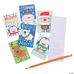 Christmas Mini Notepads
